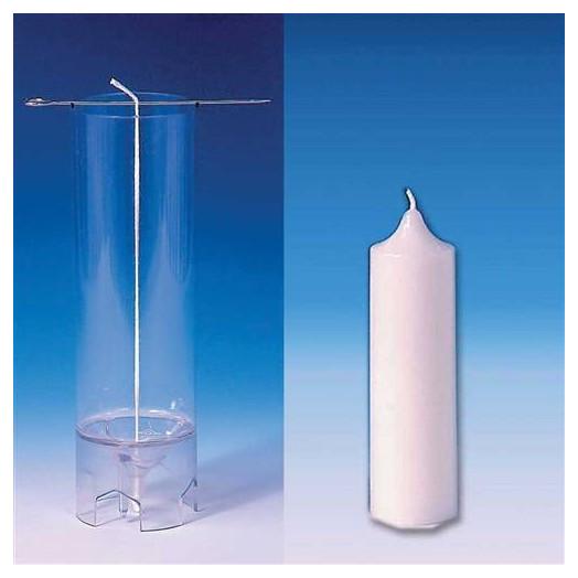 Moule cylindrique pour bougies 40X123 mm