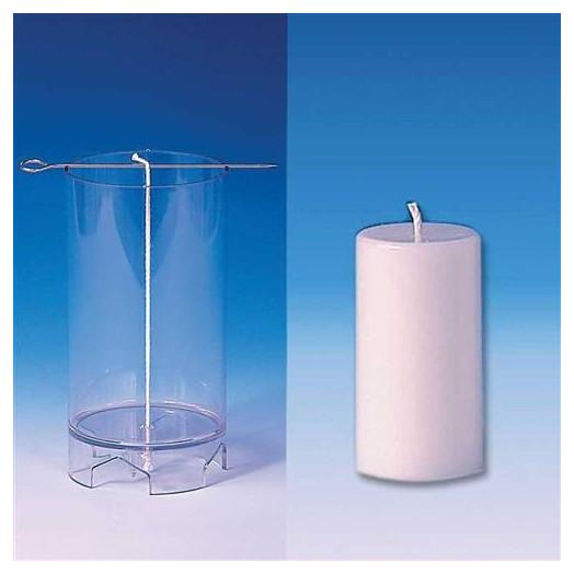 Moule cylindrique pour bougies 52X97 mm