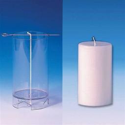 Moule cylindrique pour bougies 62X107 mm