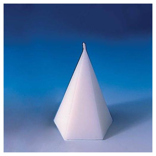 Moule bougie Cône pentagonal ø 76 mm x 125 mm