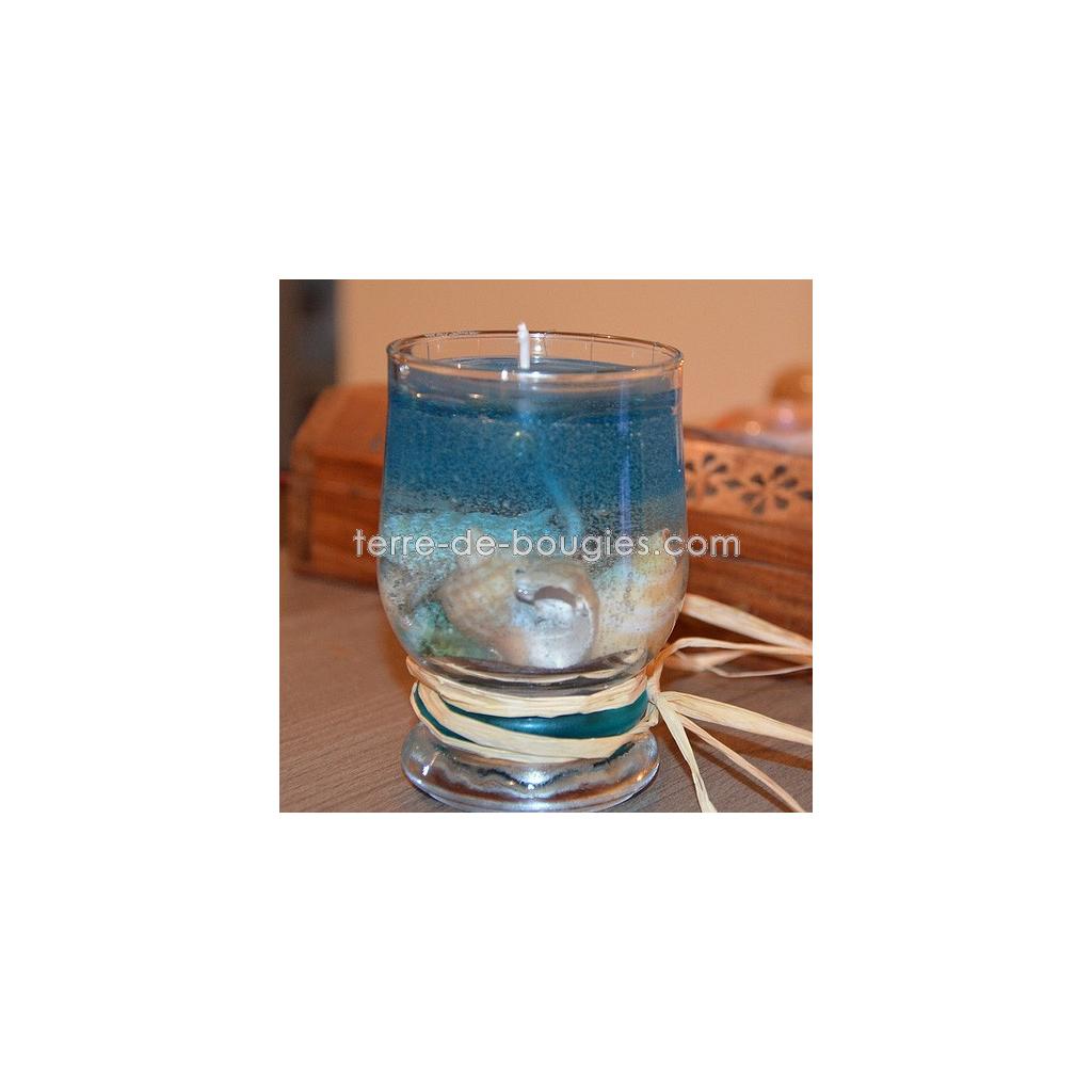 fabriquer une bougie en gel - fabrication de bougies