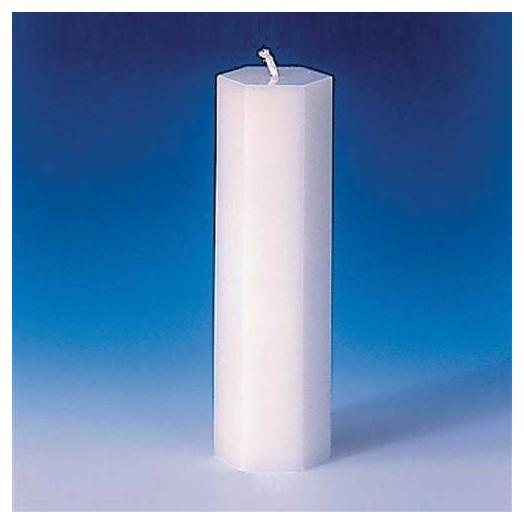 Moule pour bougies Hexagone 53 x 170 mm