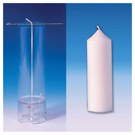 Moule cylindrique (Pointu) pour bougies 50X140 mm