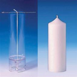 Moule cylindrique (Pointu) pour bougies 60X155 mm