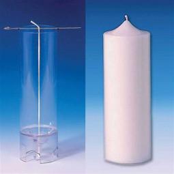 Moule cylindrique (Pointu) pour bougies 70X185 mm