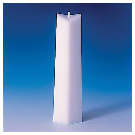 Moule pour bougies - rhombïque 55 x 31 x 227 mm