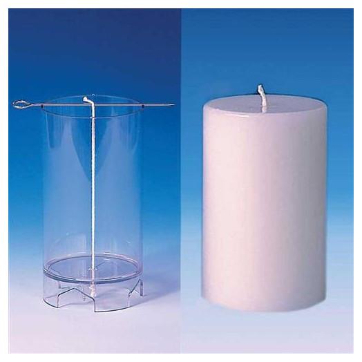 Moule cylindrique (plat) pour bougies