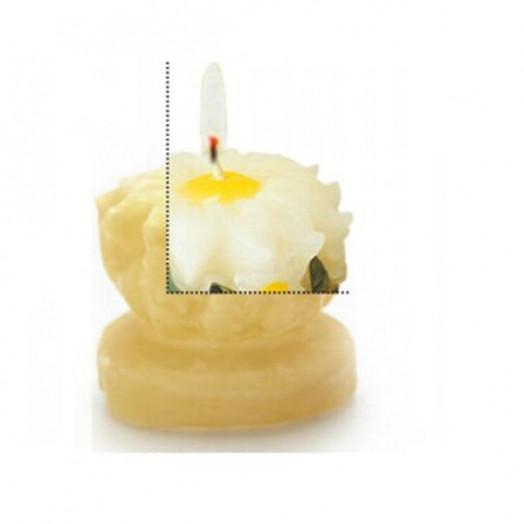 Moule en latex pour bougies - Marguerite