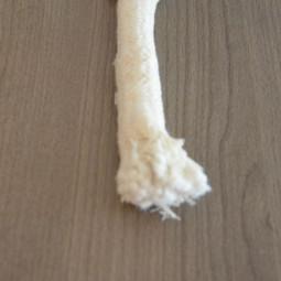 Mèche Ronde 100 % coton Ø 16 mm
