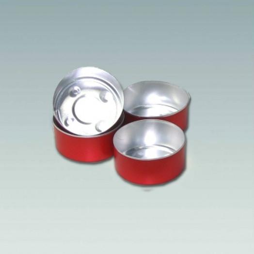 chauffe-plats en métal en aluminium - Teinte Rouge