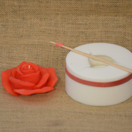 Moule silicone rose