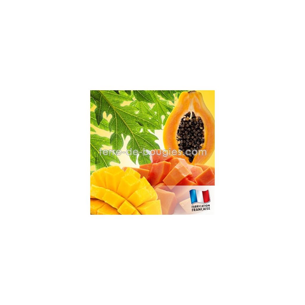 parfum pour bougies mangue et papaye fabrication de bougies. Black Bedroom Furniture Sets. Home Design Ideas
