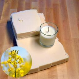 Cire de colza en plaque pour bougies coulées