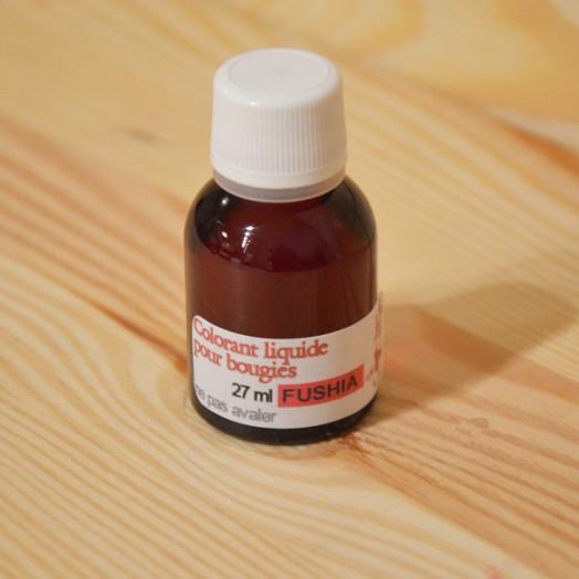 Colorant liquide pour bougies - Fuchsia