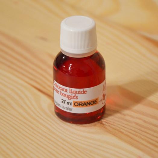 Colorant liquide pour bougies - Orange