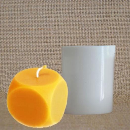 Moule Cube silicone - 6 x 6 x 6 cm