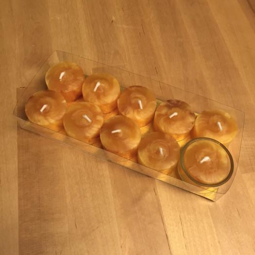 Bougies Chauffe-plats Cire d'Abeilles