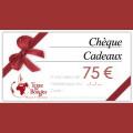 Chèque cadeau Terre De Bougies d'une valeur de 75 € 0