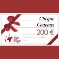 Chèque cadeau Terre De Bougies d'une valeur de 200 € 0