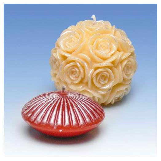 Décoration pour bougies - Pâte d'ornement Argent