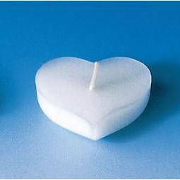 Moule pour 6 bougies flottantes - Coeur