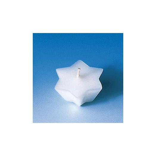 Moule pour 6 bougies flottantes - Etoile