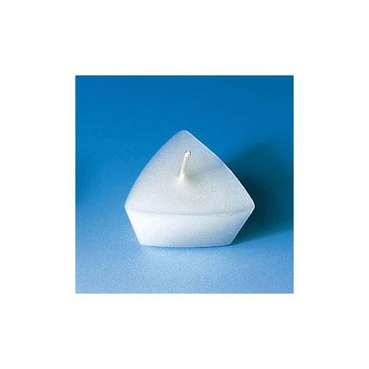 Moule pour 6 bougies flottantes - Triangle