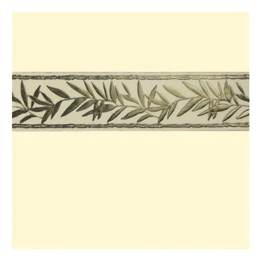 Bande de cire - Branche d'olivier Or / Argent