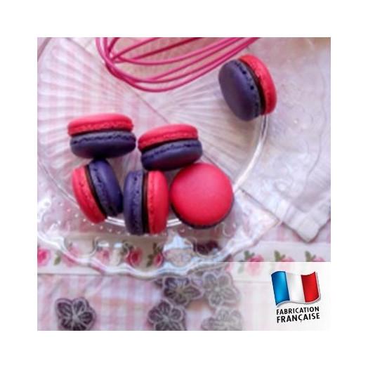 Parfum pour bougies - Macaron framboise et violette