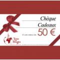 Chèque cadeau Terre De Bougies d'une valeur de 50 € 0