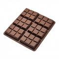 Moule pour fondants tablette de chocolat en silicone 1